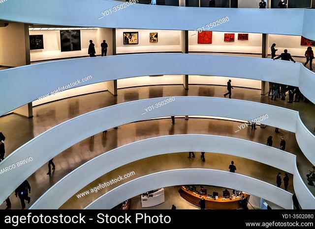 New York. Manhattan. Solomon Guggenheim Museum