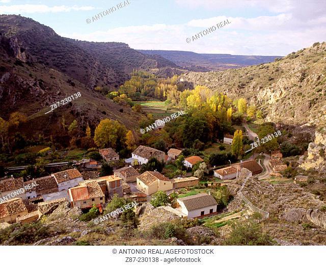 Aragosa, Barranco del Rio Dulce Natural Park. Guadalajara province. Spain
