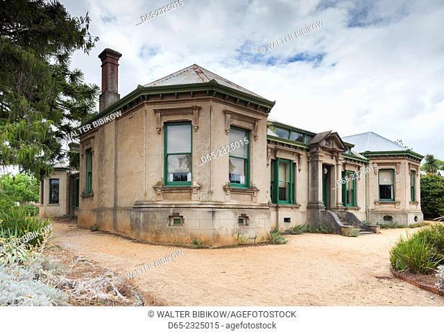 Australia, Victoria, VIC, Castlemaine, Buda, former home of Hungarian silversmith Ernest Leviny, built 1861, exterior