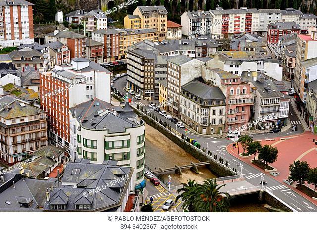 Lookout of Luarca, Asturias, Spain
