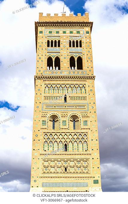 Saint Martin's Tower, Teruel, Aragon, Spain, Europe