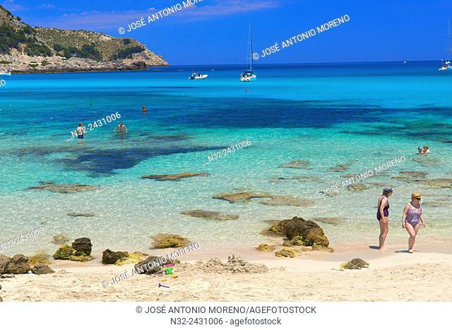 Cala Guya, Cala Agulla, Capdepera, Cala Ratjada, Cala Rajada, Mallorca Island, Majorca, Balearic Islands, Spain, Europe