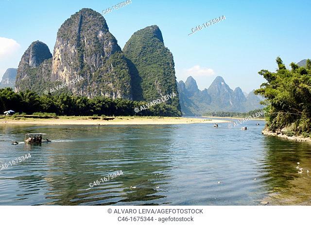 Xingping, Li River, Guangxi, China