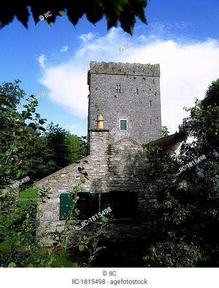 Thoor Ballylee, Gort, Co Galway, Ireland, Home of William Butler Yeats
