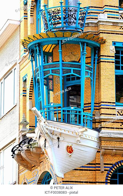 Belgium, Antwerp, boathouse