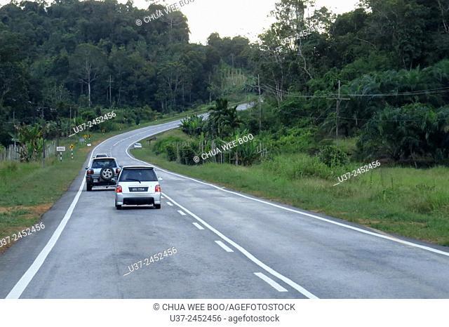 Kuching- Sri Aman road, Sarawak, Malaysia