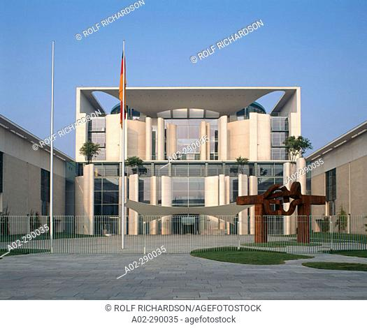 Bundeskanzleramt (Federal Chancellor's Office). Berlin. Germany
