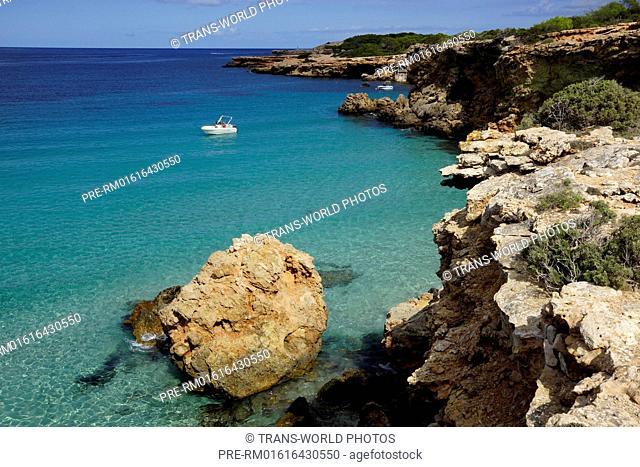 Seascape, Punta de Sa Torre, Ibiza, Spain / Küstenlandschaft, Punta de Sa Torre, Ibiza, Spanien