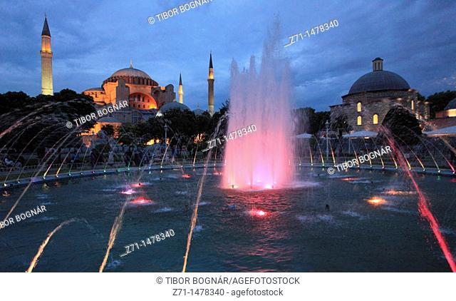 Turkey, Istanbul, Aya Sofya, Haghia Sophia, Sancta Sophia