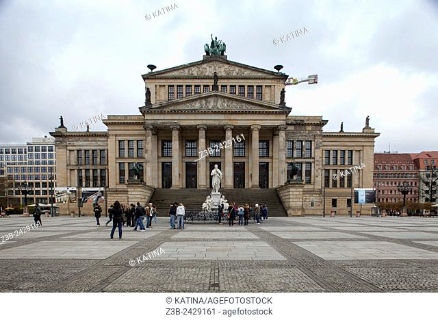 The Konzerthaus Berlin is a concert hall situated on the Gendarmenmarkt square in the central Mitte district of Berlin housing the German orchestra...