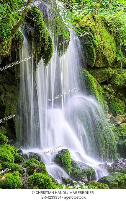 Waterfall at Mixnitzbach, Mixnitz, Styria, Austria