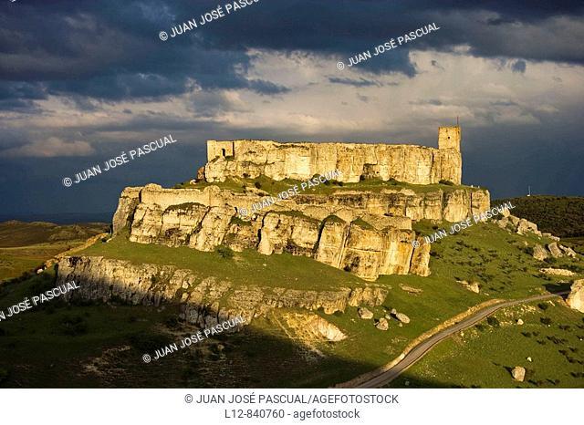Castillo Atienza, provincia de Guadalajara, Castilla la Mancha, Spain Ruta de Don Quijote Camino del Cid