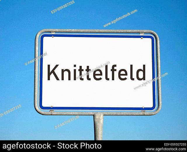 Place-name sign Knittelfeld