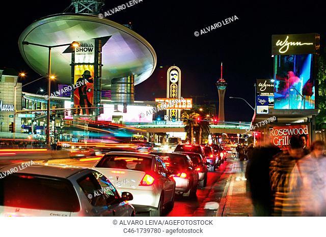 The Strip Las Vegas Boulevard, Las Vegas, Nevada, USA