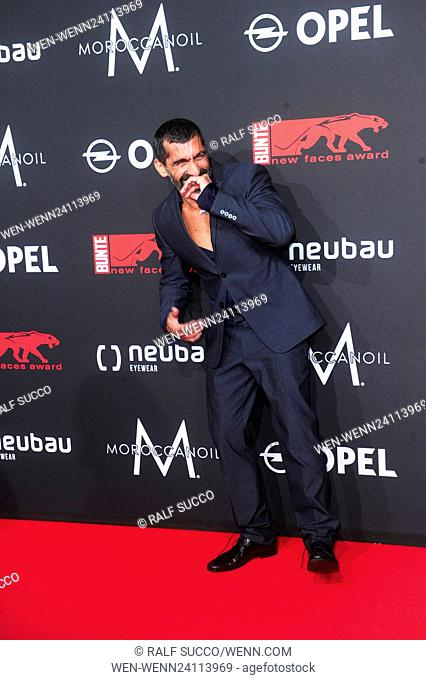 Celebrities at Bunte New Faces Award Film at E-Werk. Featuring: Erdal Yildiz Where: Berlin, Germany When: 26 May 2016 Credit: Ralf Succo/WENN.com