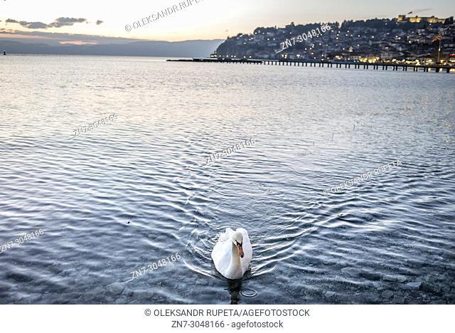 Lake Ohrid, Ohrid, Macedonia
