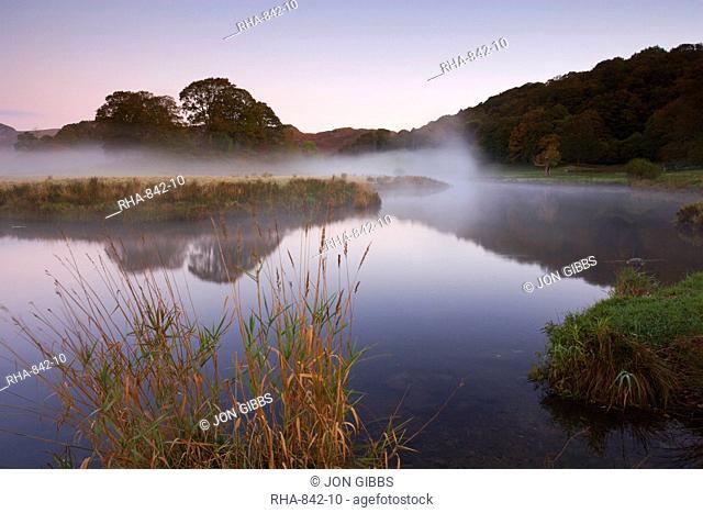Lake District scene near Elterwater, Lake District National Park, Cumbria, England, United Kingdom, Europe