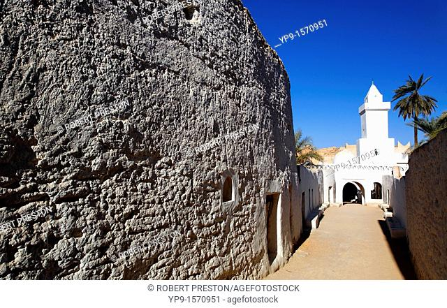 Mosque in Ghadames Old Town, Libya