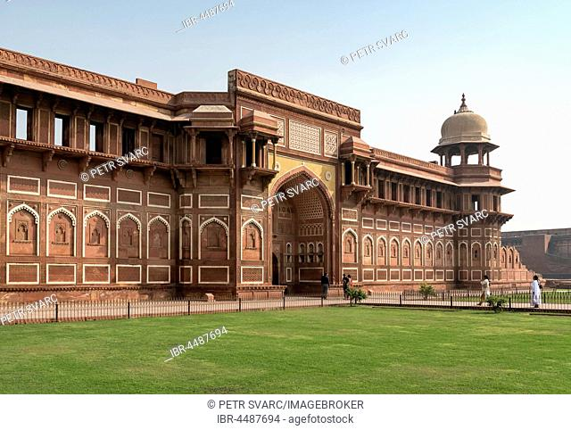 Jahangir Palace, Jahangiri Mahal, Agra Fort, Agra, Uttar Pradesh, India