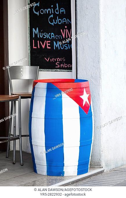 Cuban bar in Las Palmas, Gran Canaria, Canary Islands, Spain