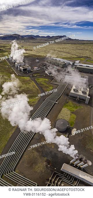 Hellisheidi Geothermal Power Plant, Iceland