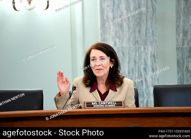 United States Senator Maria Cantwell (Democrat of Oregon), Ranking Member, US Senate Committee on Commerce, Science, & Transportation