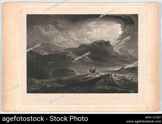 Macbeth. Engraver: Thomas Goff Lupton (British, London 1791-1873 London); Artist: After John Martin (British, Haydon Bridge, Northumberland 1789-1854 Douglas
