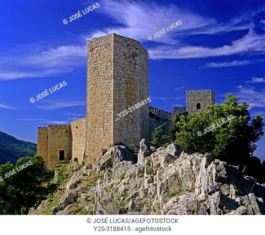 Castle of Santa Catalina (13th century), Jaen, Region of Andalusia, Spain, Europe