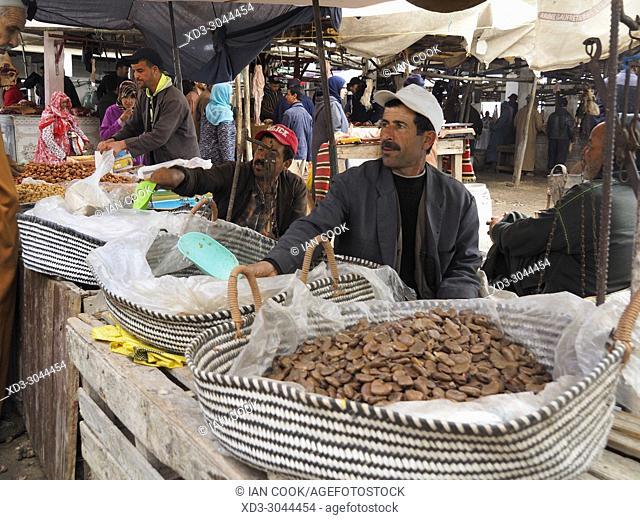 Sunday Berber Market at Had Draa, Essaouira Province, Morocco