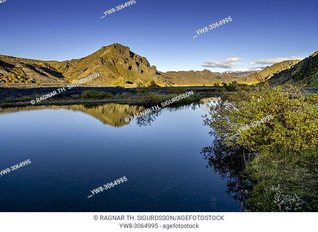 Landscape, Thorsmork, Iceland Landscape, Thorsmork, Iceland