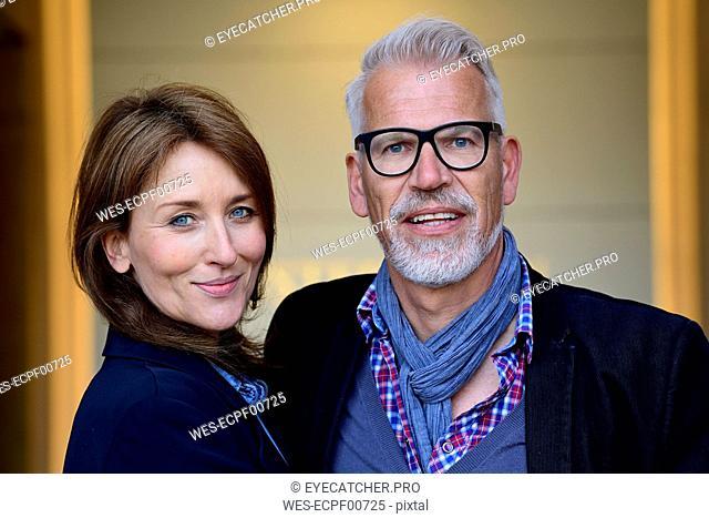 Portrait of a happy, mature couple