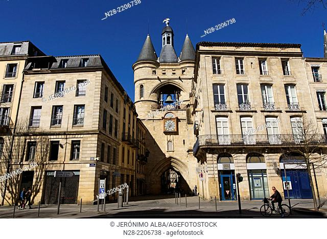 Grosse Cloche Gate, Bordeaux, France
