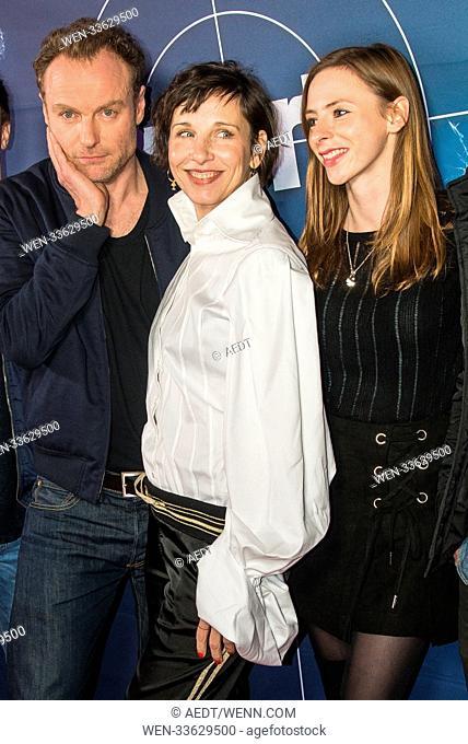 Screening of 'Tatort: Meta' at Delphi Cinema. Featuring: Mark Waschke, Meret Becker, Carolyn Genzkow Where: Berlin, Germany When: 24 Jan 2018 Credit: AEDT/WENN