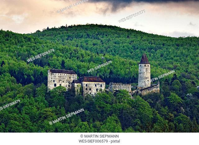 Austria, Lower Austria, Bucklige Welt, Burg Seebenstein