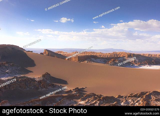 Atacama Desert, Natural landscape, Chile, South America