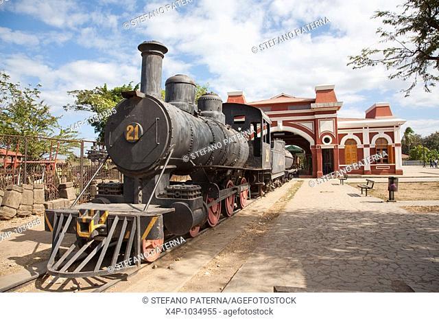 Locomotive, Old Railway Station, Granada Nicaragua