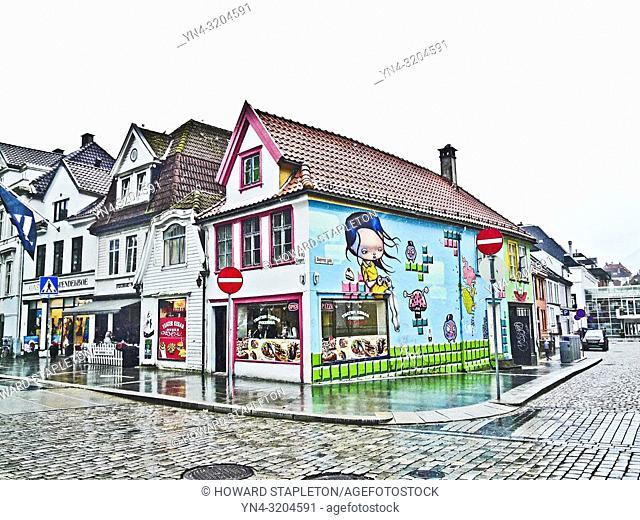 Shops in Bergen, Norway