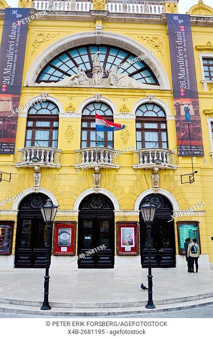 National Theatre, Split, Dalmatia, Croatia