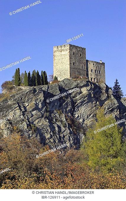 Castle Laudegg, Ladis, Inn valley, Tirol, Austria