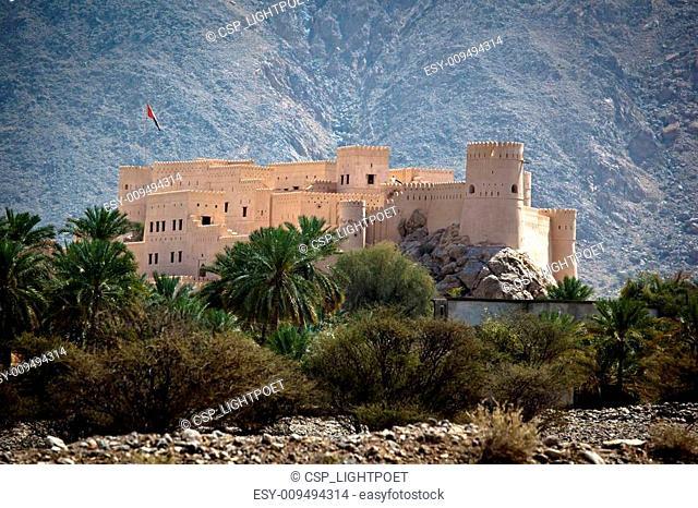 The Nakhl Fort in Al Batinah, Oman