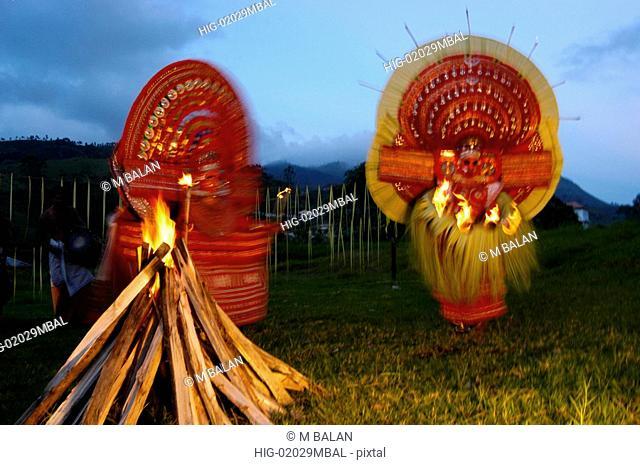 THEYYAM, RITUALISTIC DANCE OF GODMEN OF MALABAR