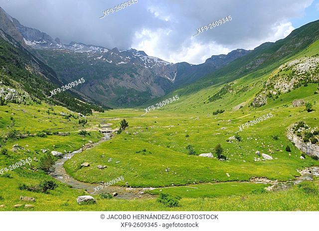 Otal Valley.Pirineos mountains.Huesca province.Aragon.Spain