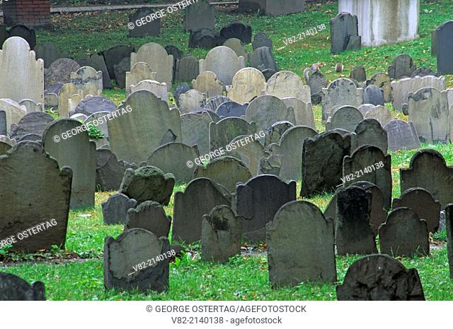 Granary Burial Ground, Boston National Historical Park, Massachusetts