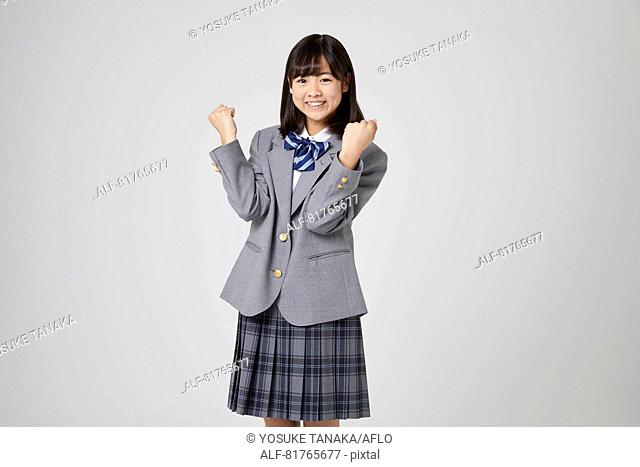Japanese junior high student