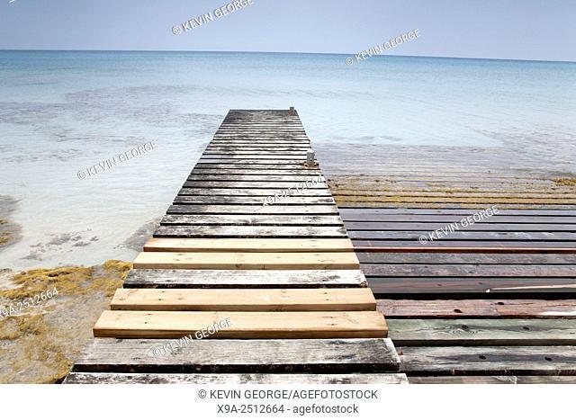 Pier, Formentera, Balearic Islands, Spain