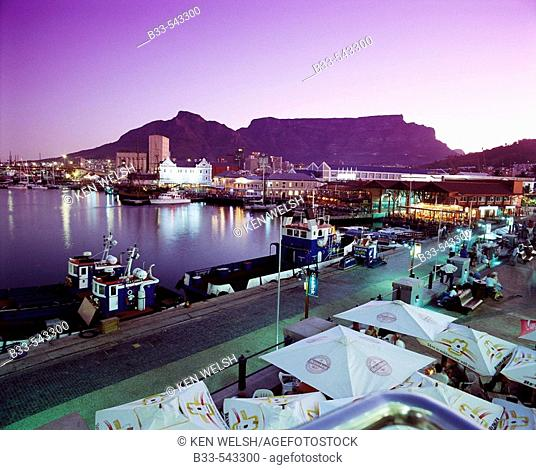 Victoria and Alfred Waterfront, Cape Town. South Africa