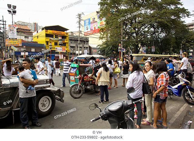 Plaza de Binodo, Manila, the Philippines