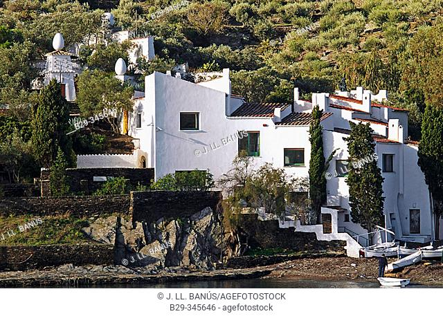 Salvador Dalí's house and Museum. Portlligat. Girona province, Spain