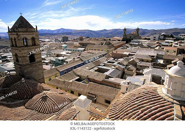 San francisco church  Potosi  Bolivia