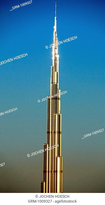 Burj Khalifa in Dubai, UAE